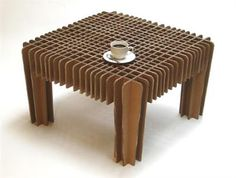 . . . . . How to Recycle: Recycled Cardboard Furniture