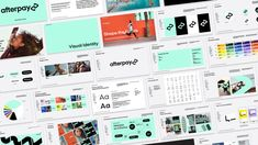 Brand New: New Logo and Identity for Afterpay by YummyColours Design Agency, Branding Design, Logo Design, Out Of Home Advertising, Surfing Destinations, 3d Things, Mint Background, Brand Architecture, Human Connection