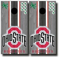 Ohio State weathered wood full board graphics