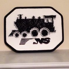 Train string art.
