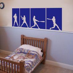 wall decoration for my sport-loving little boy?