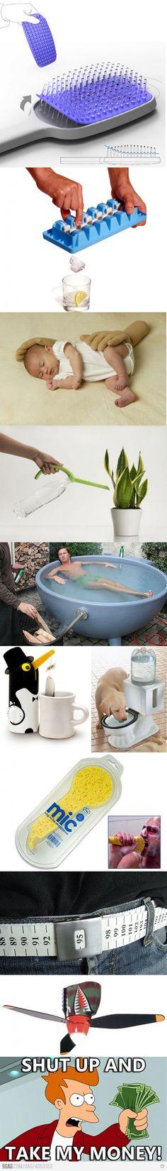 Cool Inventions! Love da hairbrush 1