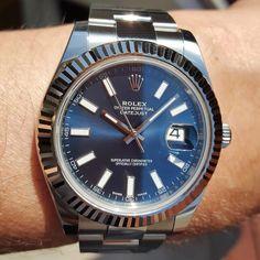 "82 Likes, 14 Comments - @superb_wrist_watches on Instagram: ""Rolex Datejust 2! #116334 #rolexdatejust #dapperlydone #paulnewman #mondani #uhren #RolexWrist…"""