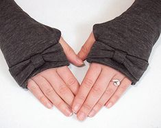 Fingerless Gloves Sewing Pattern. Arm Warmer Pattern - PDF Sewing pattern