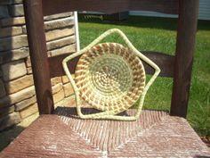 Gullah Sweetgrass Small Star Basket