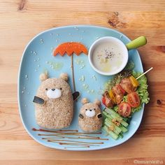 Fairy Tales on Plates - kawaii food art
