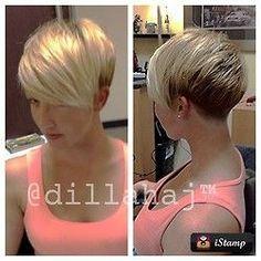 goshorter: (via .@dillahaj (Justin Dillaha) 's Instagram photos | Webstagram - the best Instagram viewer) | Short sexy do's | Pinterest | Hair, Shorts and Inst…