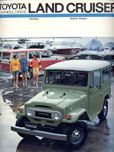 74 Green FJ40