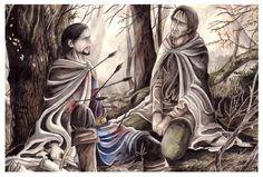 The Death of Boromir by peet.deviantart.com on @deviantART