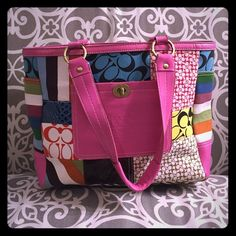 """Gorgeous handbag """"Inspired"""" gorgeous handbag. Great for a night out on the town or a day shopping :) has a few stains and looks a little warn- hence why the price is so great! Bags Shoulder Bags"""