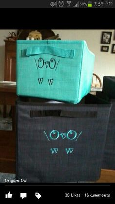 Love owls and love thirty one - such a cute an unique way to personalize your Thirty-One product!  www.mythirtyone.com/319781