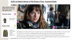 Dakota Johnson (Anastasia Steele) Jacke aus dem Film Fifty Shades of Grey