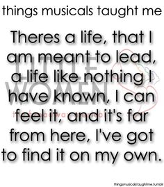 Things Musicals Taught Me Little Women