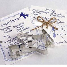 AIRPLANE COOKIE Cutter, Party Favors, Cookies, Air Show, Pilot Plane, Fly,Travel, Boy Parties, Cake Topper, Decoration, Sprinkles by swigshoppe on Etsy https://www.etsy.com/listing/228813518/airplane-cookie-cutter-party-favors