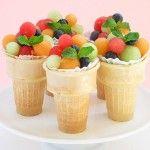 Fruit cups #Bridalshower