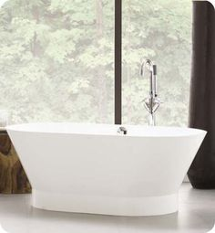 Neptune Wish oval shaped bathtub is a perfect addition to your dream bathroom.