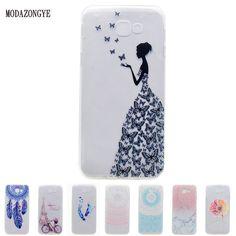 For Samsung Galaxy A5 2017 Case 5.2 Soft TPU Phone Case For Samsung Galaxy A5 2017 A520 A520F SM-A520F Case Silicone Back Cover