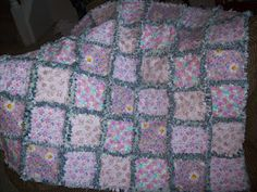 Hi I handmade this rag quilt. It is made out of recycled denim and new cotton. It is 41 x 32 inches. Country Quilts, Recycled Denim, Rag Quilt, Making Out, Etsy Shop, Blanket, Teddy Bears, Crochet, Cotton