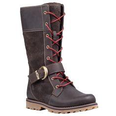 Girls' Earthkeepers® Asphalt Trail Bethel Buckle Boot #timberland #kidsboots