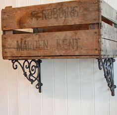 Bowley & Jackson Victorian cast metal shelf bracket Bowley & Jackson