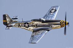P-51 Mustang by mvonraesfeld, via Flickr