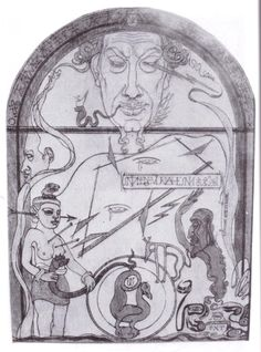 FORCES OF THE SIGILS, Austin Osman Spare (English artist/occultist 1886~1956)