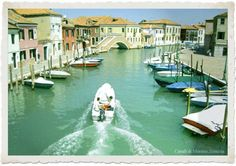 Murano, Italy - the glass island.  An absolute 'must do' on my list!