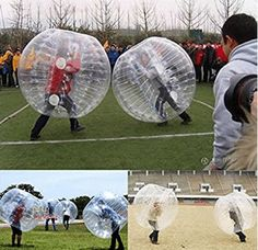 Purchase NEW Body Inflatable Bumper Football Zorb Ball Human Bubble Soccer from Shenzhen Wanweile Network Tech on OpenSky. Black And Decker Toaster, Things That Bounce, Cool Things To Buy, Bubble Soccer, Baby Snowsuit, One With Nature, Pvc Material, Pvc Vinyl, Indoor Playground