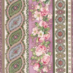 Robert Kaufman - Damask Rose SRK-13991-238 GARDEN