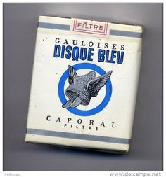 Gauloises cigarettes - the height of cool - had the same pack in the back of my jeans for quite some time.