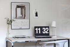 RAW design blog: ARTEK POSTER ON THE WALL