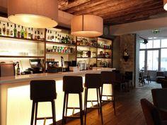 Jules & Jim le bar de l'hôtel rue des Gravilliers à Paris