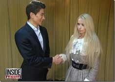 Real-Life Barbie Doll ,Valeria Lukyanova And Real-Life Ken ,Justin Jedlica Don't Want to Marry