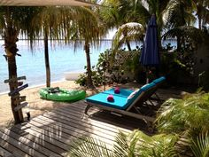 Bonaire house rental - Sun deck with beautiful view