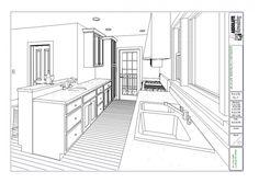 Amazing Kitchen Alley Space Plan In Kitchen Floor Plans Detail With Modern Interior Design Ideas For