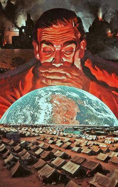 İnsanlığın Uzaya Olan Merakını Sürreal Kolaj Çalışmalarıyla Betimleyen Sanatçının Kafa Açan İşleri