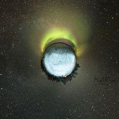 Astrophoto: Planet Aurora