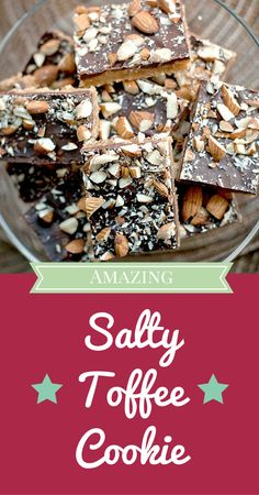 Totally simple recipe but with a great, sweet and salty treat at the end. Love these things.