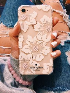 vsco: kayxperry - Sparkly Phone Cases - Sparkly Glitter Iphone Case - - kate spade NEW YORK flower case iphone 8 Diy Iphone Case, Iphone Cover, Iphone 6 Plus Case, Iphone Phone Cases, Iphone Ringtone, Iphone Macbook, Girly Phone Cases, Pretty Iphone Cases, Phone Cases Kate Spade