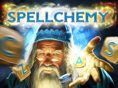 Spellchemy splash screen for iPad