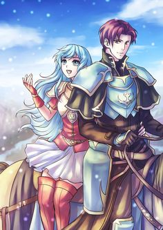 Erika and Seth - Fire Emblem: Sacred Stones