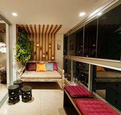 61 Ideas Small Covered Patio Decor Home For 2019 Interior Balcony, Apartment Balcony Decorating, Interior Design Living Room, Living Room Decor, Living Spaces, Small Balcony Decor, Balcony Design, Indian Room Decor, House Rooms