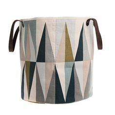 Somerset Utility Basket. This type of patchwork is really fun, and those colors are great