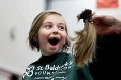 Shear delight at McHenry St. St Baldricks, Shearing, Event Ideas, Good News, Fundraising, Charity, Cancer, T Shirts For Women, Awesome