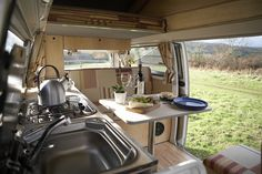 Van Interior by O'Connors Campers, via Flickr