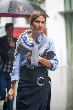 London Fashion Week: The Best On The Street Style Scene- HarpersBAZAAR.com