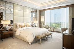 The St. Regis Mumbai - Suite Bedroom - Rendering