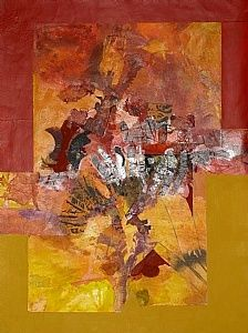 Sue St. John is a native Hoosier and she resides in Avon, Indiana where she maintain a studio in my home.  She has been painting for over twenty years.  .In my painting, I work in the medium of watercolor, mixed media and acrylics.  Most of my art works tend to be abstract or semi-abstract.  I love color and texture, unusual techniques, and in a unique style.