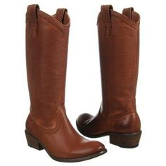 Women's Frye Carson Pull On Cognac Leather Shoes.com--------------LOVE these!