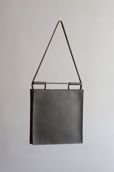 Black Squared Bag | CHIYOME - Minimalist Handbags